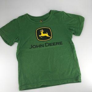 John Deere youth 5 green t-shirt